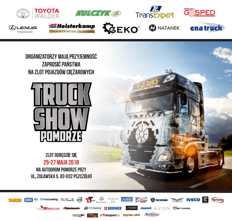 trans expert truck show pomorze plakat